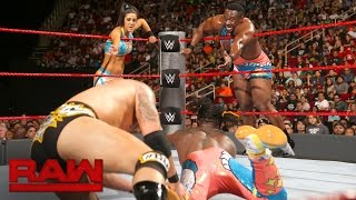 The New Day & Bayley vs. Luke Gallows, Karl Anderson & Dana Brooke: Raw, Aug. 29, 2016