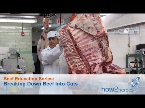 Breaking Down Beef Into Cuts: Beef Education Butcher Series