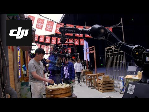 DJI - Wanda Studios Grand Opening: Live Stunt