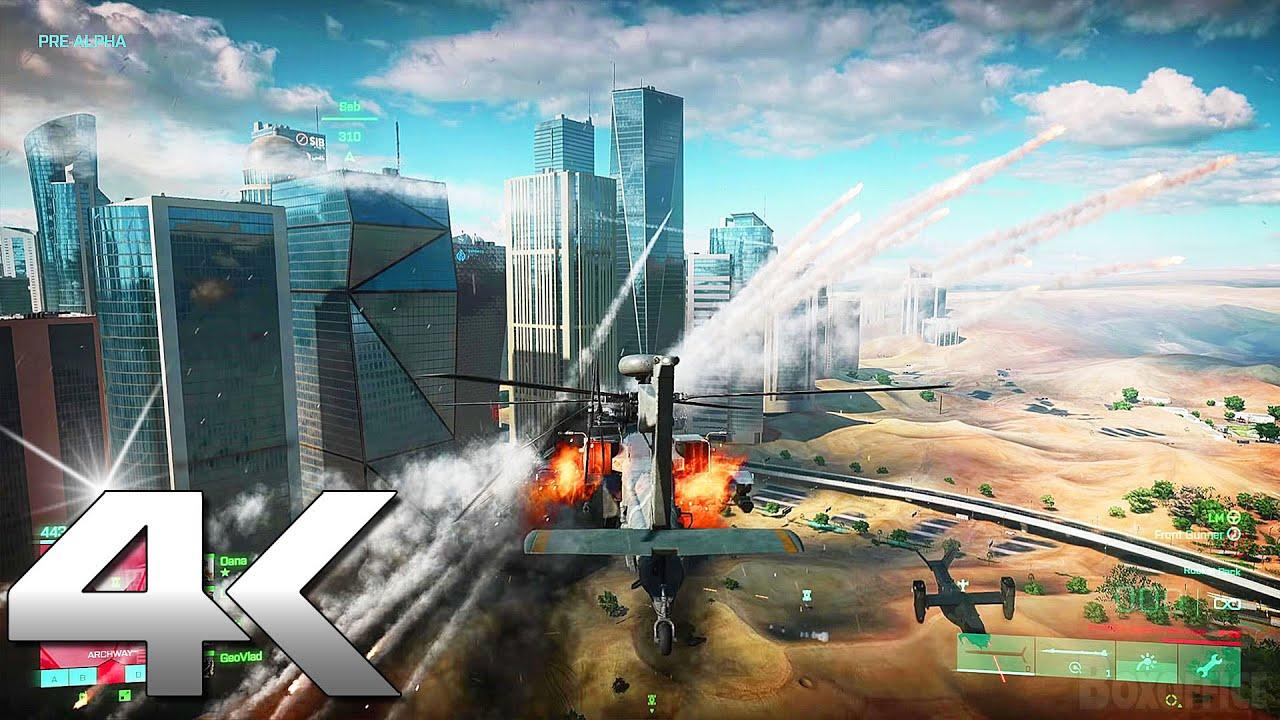 BATTLEFIELD 2042 Gameplay Trailer 4K