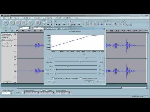 Audacity Audio Clean-up tutorial