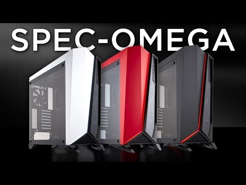 CORSAIR Spec Omega  - Unmistakable Style, Tempered Glass