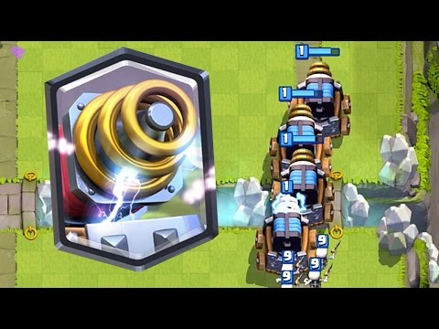 Clash Royale - SPARKY MADNESS! Mirror & Sparky = Troll