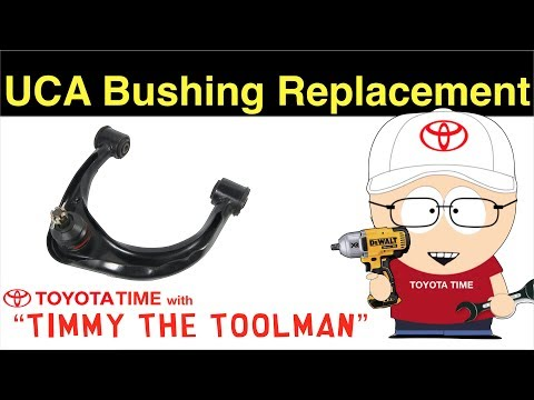 Front Upper Control Arm Bushing Replacement