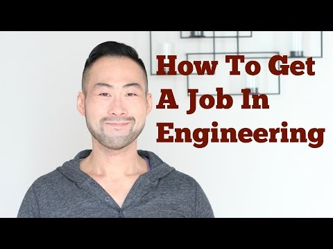 How To Get An Engineering Job As A College Graduate