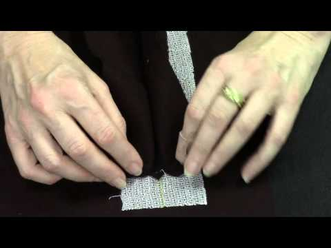How to Sew the Double Piped Pocket with Flap