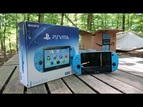 So I bought a PS Vita in 2018... Was it worth it? (Unboxing)