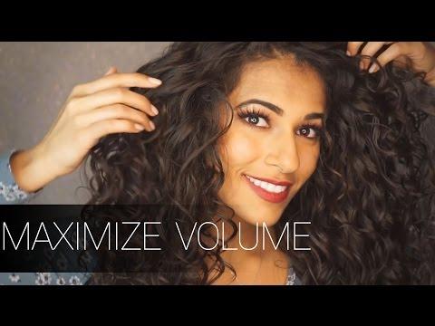 BIG CURLY HAIR ROUTINE | AYESHA MALIK