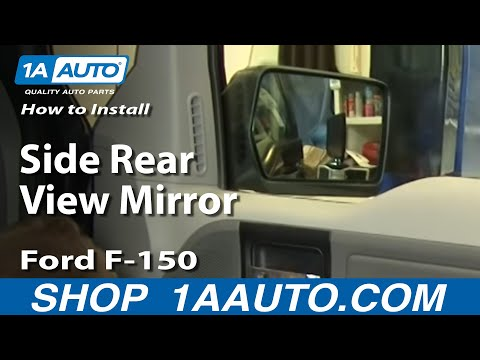 How To Install Replace Side Rear View Mirror Ford F-150 04-08 1AAuto.com