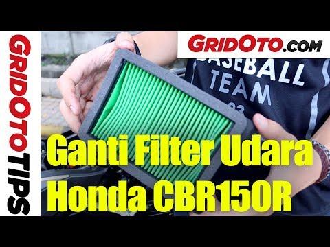 Cara Ganti Filter Udara Honda CBR150R   How To   GridOto Tips