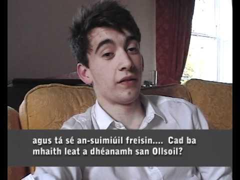 Scrúdú Béil na hArdteistiméireachta/ Leaving Cert Irish Oral (Jack) 2012