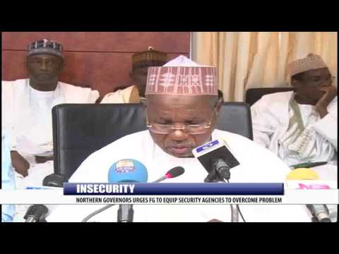 INSECURITY: NORTHERN GOVERNORS URGES FG TO EQUIP SECURITY AGENCIES TO OVERCOME PROBLEM