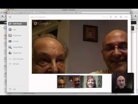 Google+ Setting up Accounts for Video Calls - by LawyerCams.com