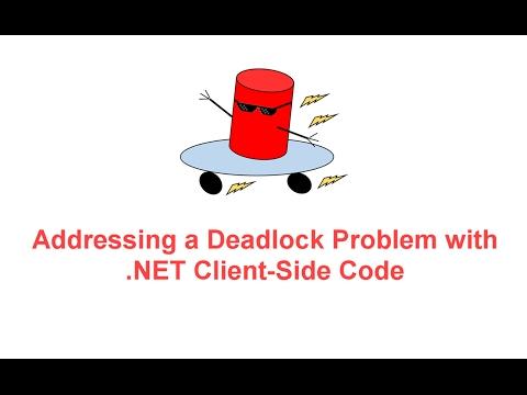 Addressing a Deadlock Problem with .NET Client Side Code -- SQL Server BOSS