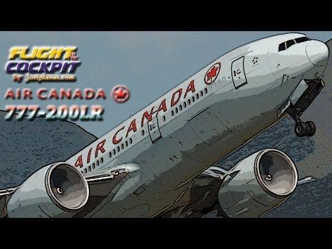 AIR CANADA 777-200LR to Sydney