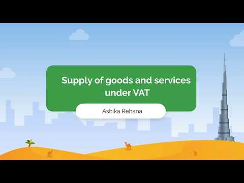Webinar on Supply of Goods and Services under VAT for the UAE | Zoho Books