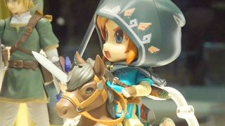 This Zelda: Breath of the Wild Link Figure is So Cute! - Toy Fair 2017