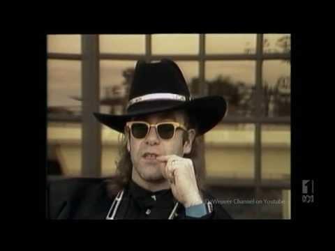 Elton John '86 'Hooked on George Michael & WHAM!' The Meldrum Files Part 4 1-11-1986