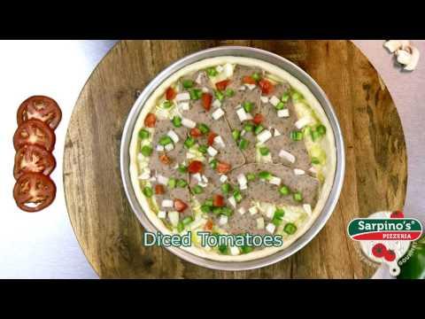 Grecian Gyro Pizza - Sarpino's Pizzeria Video