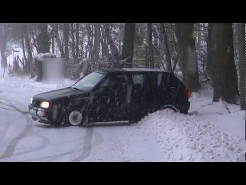 Drift FAIL frontwheeldrive in the snow