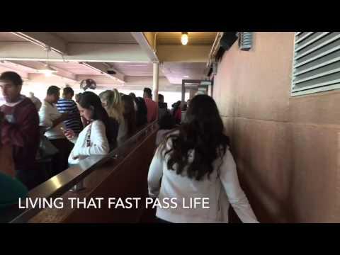 That Feeling When Using Disney Fast Passes