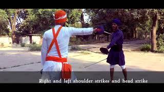Learn Gatka step-by-step: Single + Double SOTI: Stick (Lesson 11)
