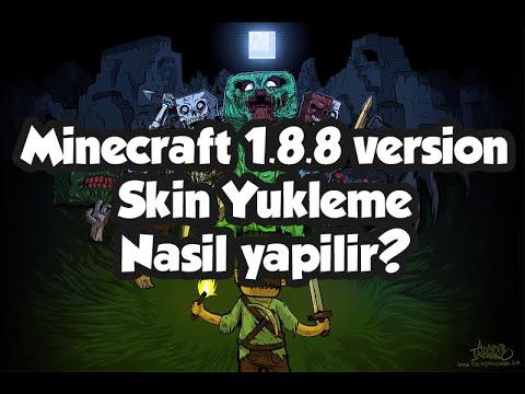 Minecraft 1.8.8 | Nasıl skin yüklenir ? (Binsiz)