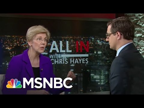 Sen. Elizabeth Warren Calls GOP Bill 'Punch In The Gut' | All In | MSNBC