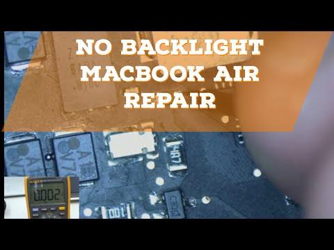 Macbook Air Backlight Repair on an A1369 Logic Board 820-3023
