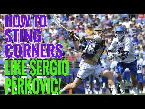 How to Sting Corners like Sergio Perkovic!  It's All About the GRIP!