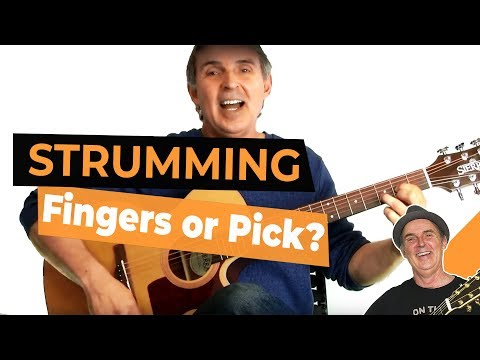 Should I Strum With My Fingers Or A Pick? Basic Guitar Lessons For Beginners