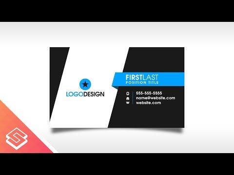 Inkscape Tutorial: Print Ready Business Card Design