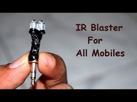 How To Make 2 Rupees IR Blaster Will Make Your Phone a Universal Remote!