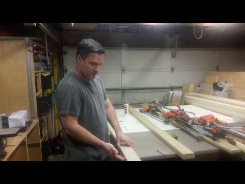 Building Double Barn Doors: Glue-ups 1