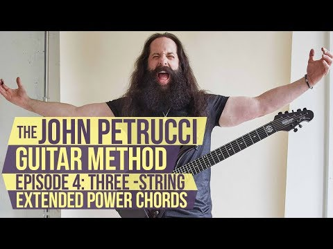 The John Petrucci Guitar Method-Episode 4:The Petrucci Sound - 3-String Extended Power Chords