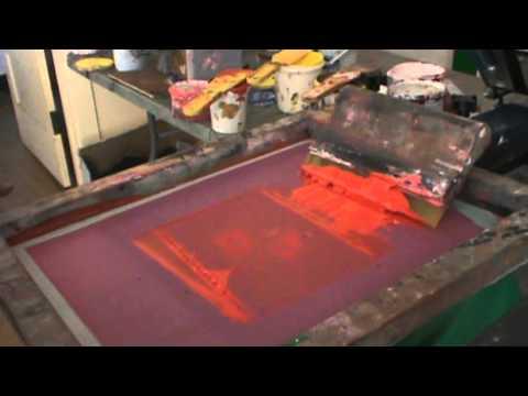 T shirt printing a 4 color t shirt