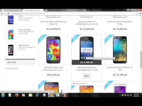 Samsung Mobile Phone Price list on Kretaz.com