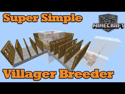 [Tutorial] Super Simple Villager Breeder, Minecraft MCPE, Bedrock, Win10, Better Together 1.2