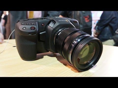 Blackmagic Pocket Cinema Camera 4K Hands-On, Specs, Price, & Availability
