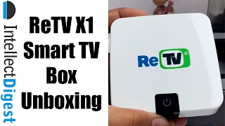 ReTV X1 Unboxing And Features Overview- Easy To Use Smart TV Box