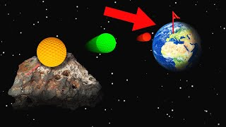 WORLDS FURTHEST HOLE IN ONE FROM SPACE! (Golf It)