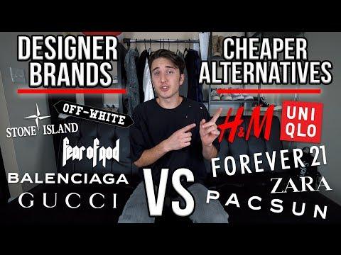 DESIGNER BRANDS VS CHEAP ALTERNATIVES! My Honest Opinion