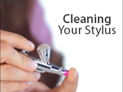 Luminess Air: How To: Clean Your Stylus