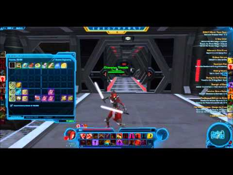 White light sabers in Swtor