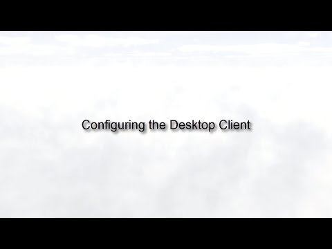 Configuring the Oracle Social Network Desktop Client (Release 10)