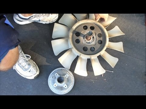 How to Replace a Fan Clutch