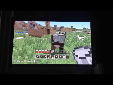 Minecraft how to drink milk from a cow