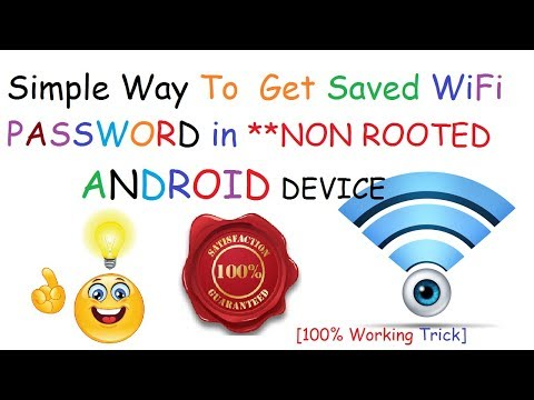 How to See Saved WiFi Password in Non Rooted Android Device
