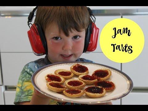 JAM TARTS RECIPE - Cooking with Kids