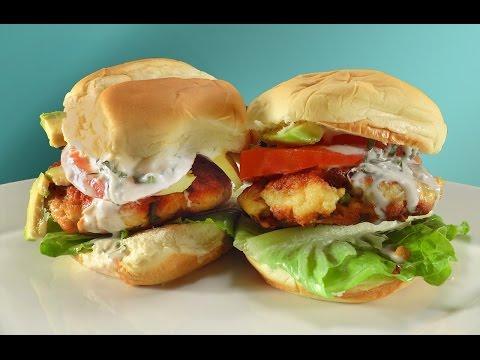 Salmon burgers with Horseradish mayonnaise